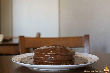 超絶品ビターチョコの黒いパンケーキ、ベーコンチーズパンケーキetc4種類のパンケーキ♪Cafe blow(大阪/泉佐野、日根野)