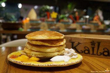 パンケーキマンがカイラでパンケーキ食べ放題にチャレンジしたレポート♪パンケーキタワーに(東京/渋谷)