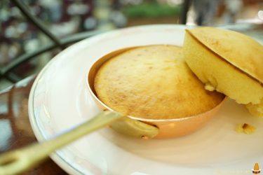 オーブンで焼き上げたプチパン・ホットケーキは素朴で美味しい♪ティーラウンジ・パルテール★ホテル阪急インターナショナル2F★レポート第二弾(大阪/梅田)