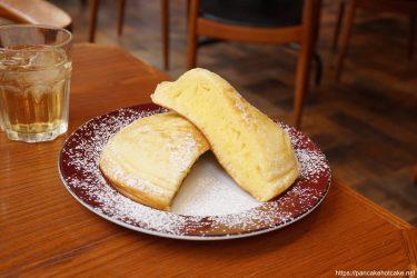 Bigで美しいホットケーキ♪Enjoy CAFE(エンジョイ カフェ)大阪/桜川(南堀江)