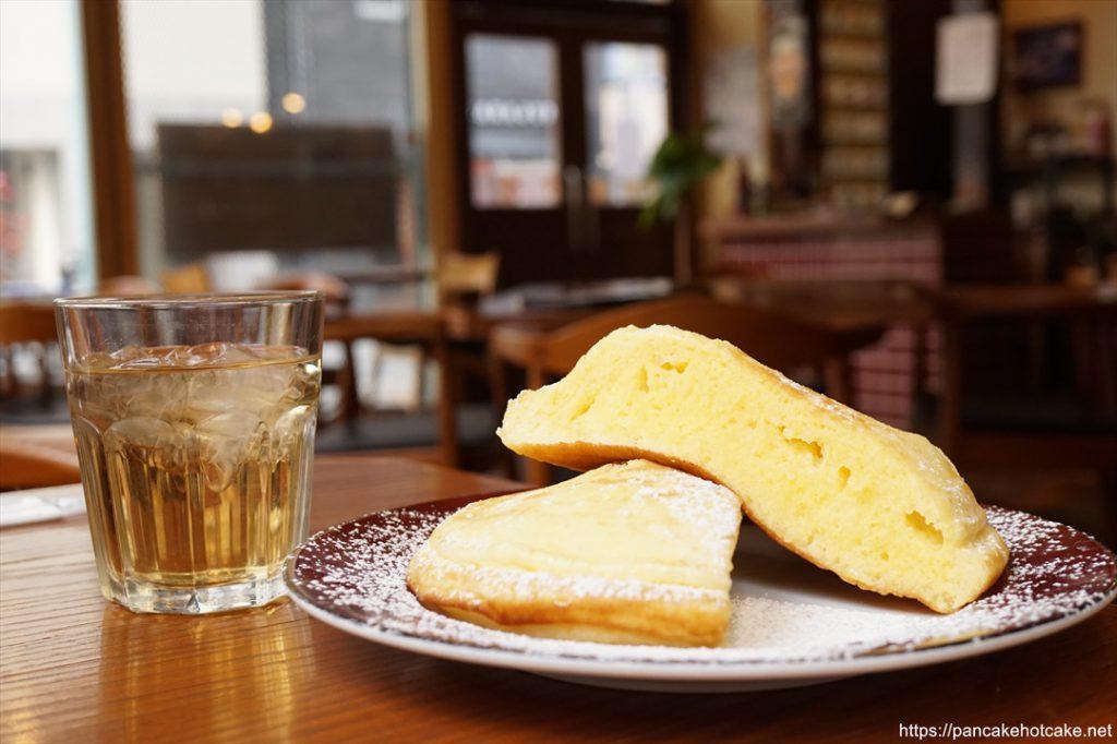 エンジョイカフェのホットケーキ(大阪/南堀江)