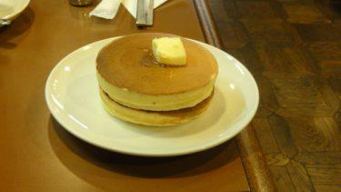 見事に円いカリサクなホットケーキ★アラビヤコーヒー(大阪/難波)
