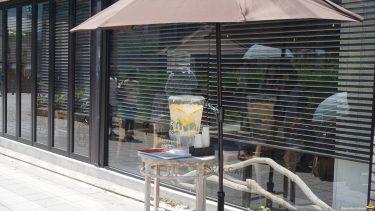 リコッタチーズパンケーキ★超ふわふわ生地のスフレタイプ♪ミカサデコ&カフェ(大阪/難波)