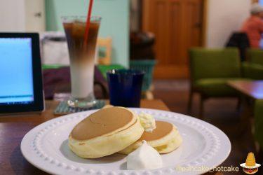 美しいクラシックパンケーキ!ホイップバター×クリーム×蜂蜜で絶品♪CAFE★OLE(カフェ・オーレ!)東京/水天宮前