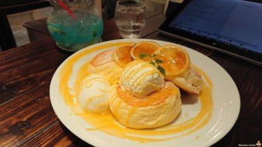 レモン×レモン×レモン×レモン×スフレパンケーキ=美しく絶品で爽快なサニーレモンパンケーキ(夏季限定)カフェニカ