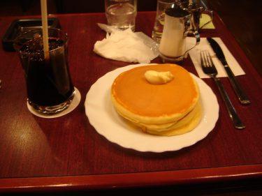 美味しい手作りホットケーキの喫茶店サンシャイン(大阪/東梅田)