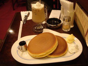 新大阪★純喫茶★男爵のホットケーキ(大阪/新大阪)