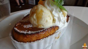 新しいパンケーキ生地のベイクドパンケーキ現る♪39cafe(サクカフェ)(名古屋/八田)