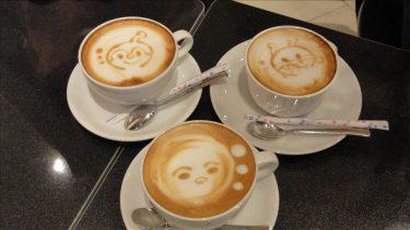 【特別編】2013名古屋パホケ巡り1店目ライトカフェで4種類のパンケーキとラテアート(名古屋/名駅)