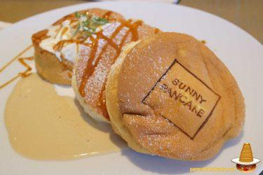 ふわふわスフレパンケーキにミルクティーソースは最高♪サニーパンケーキ(SUNNY PANCAKE)(三重/鈴鹿市)