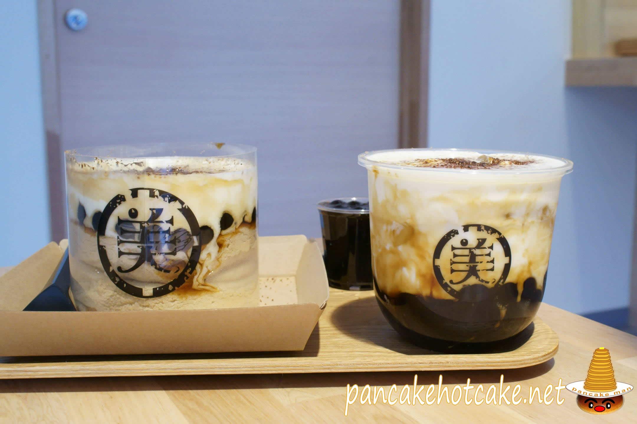 黒糖タピオカチーズスフレパンケーキ 美好年代 大阪店(Belle Epoque Osaka)北堀江