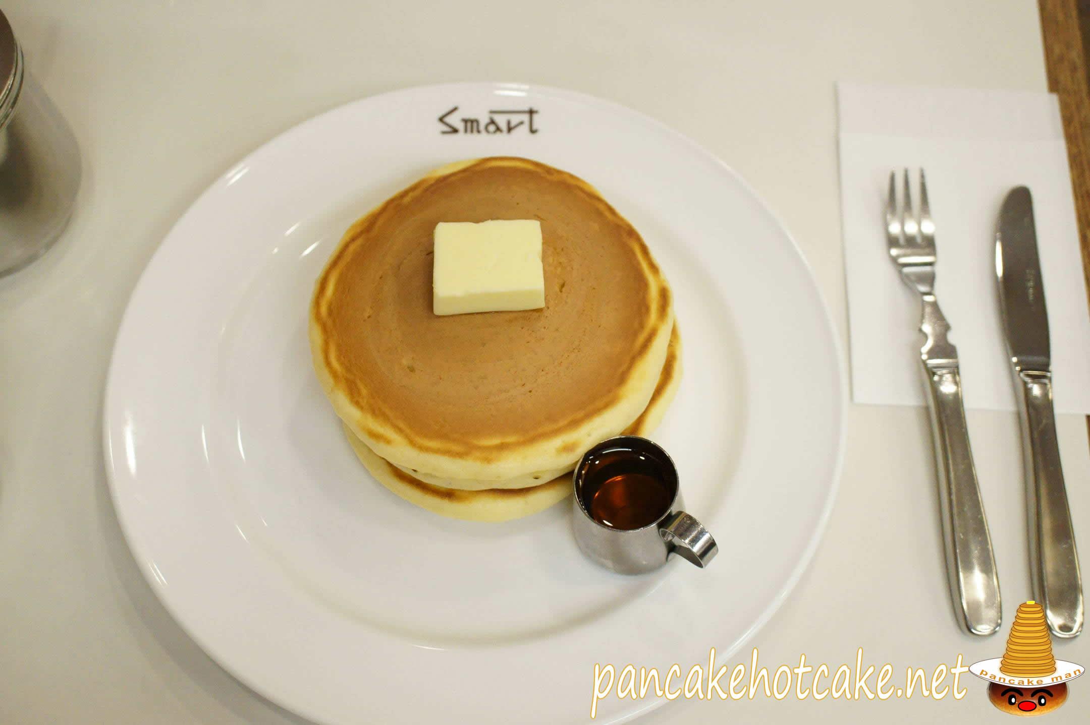 ホットケーキ 老舗の喫茶店<SMART Coffee> スマート珈琲店(京都/京都市役所前)