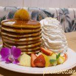 10周年記念パンケーキタワー(10th Anniversary Pancakes) ¥1680円(税別)エッグスンシングス心斎橋
