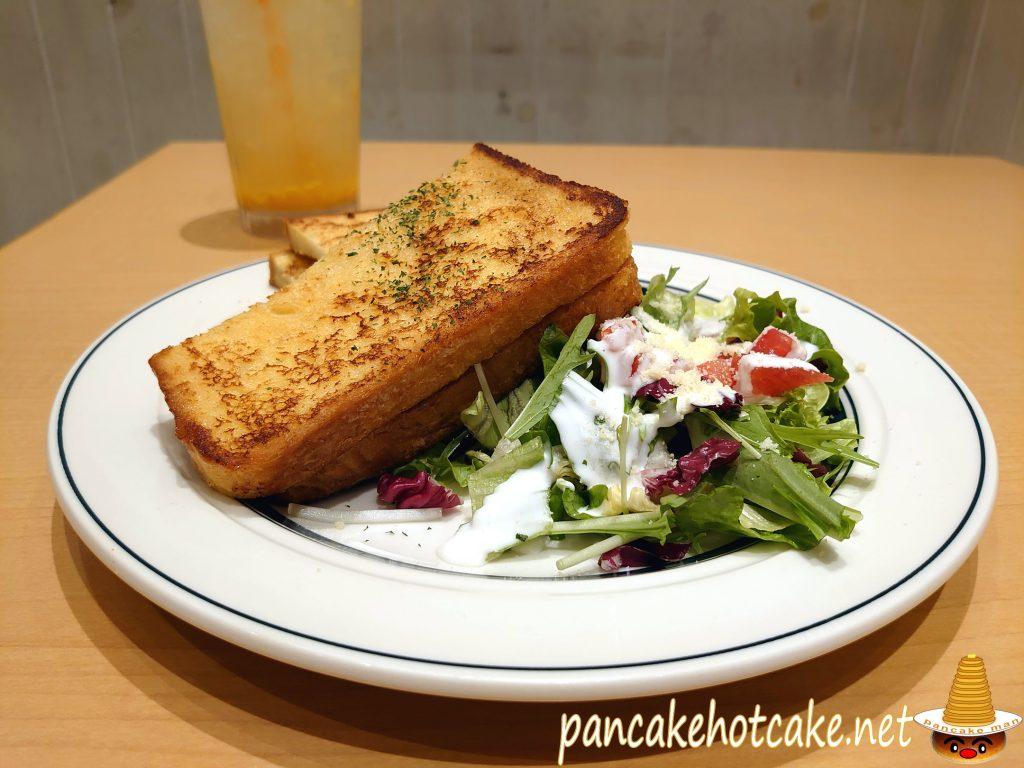 【期間限定】食べた物:フレンチト―ストサンド ¥1180円(税別)