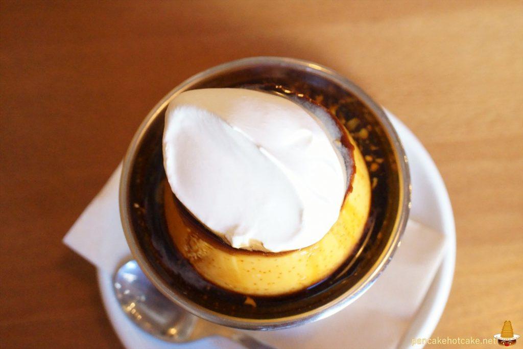食べた物:Traditional Pudding(トラディショナル プリン) ¥500円