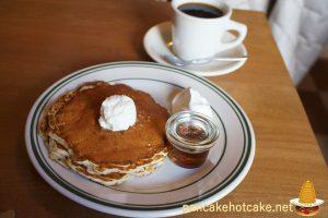 食べた物:Buttermilk Pancakes(バターミルクパンケーキ) ¥850円