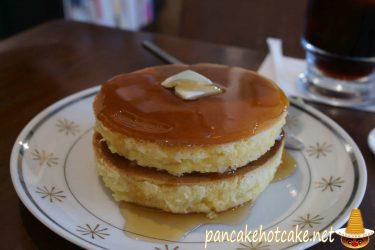 喫茶 月森のホットケーキ 2段のダブル2020年7月