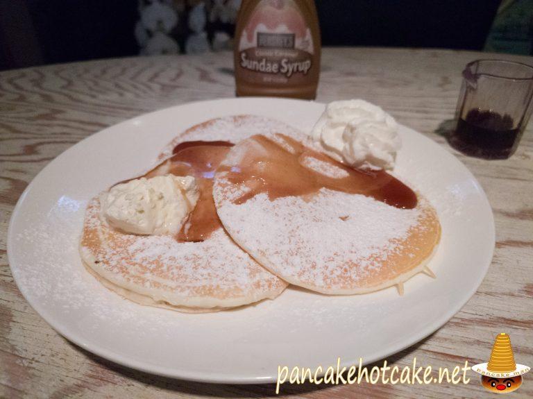 食べた物:バターミルクパンケーキ 大阪ハプナ