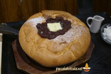 食べたもの:台湾カステラパンケーキ あんバター 台湾カステラ 米米(ファンファン)梅田