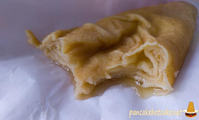 食べた物:あたたかいクレープ バターシュガー 500円CREPE DE FUFU ASHIYA【クレープ ド フフ芦屋】