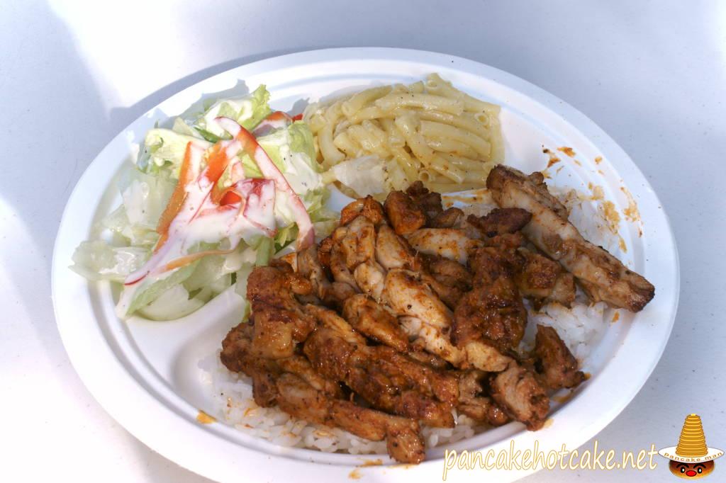 食べた物:フリフリチキン(Hulihuli Chicken)hapuna cafe(ハプナ カフェ)