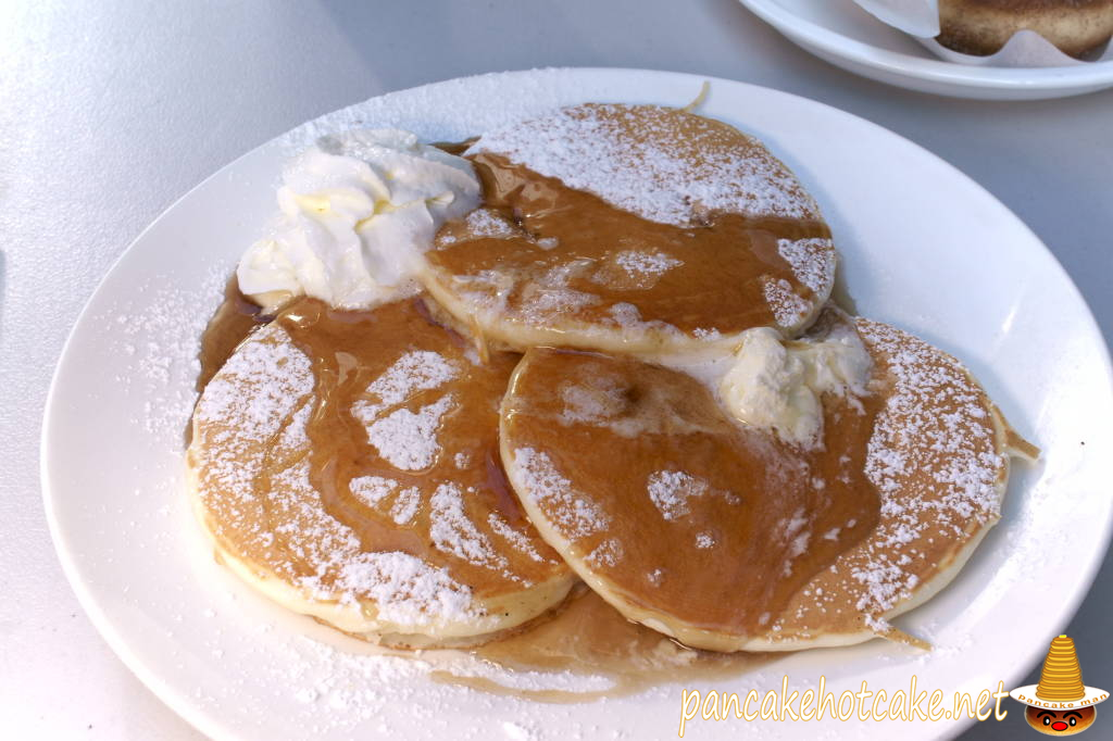 食べた物:バタービール パンケーキ(Buttermilk Pancakes)hapuna cafe(ハプナ カフェ)