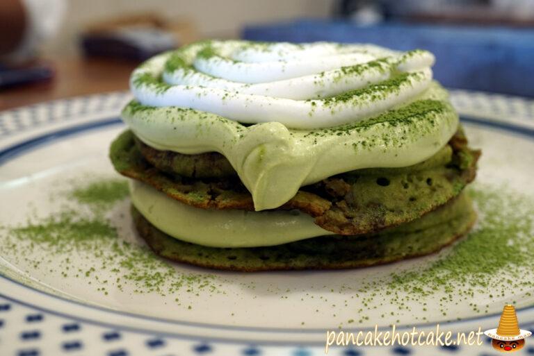 抹茶 ティラミス パンケーキ(Matcha Tiramisu Pancakes)神戸Angie アンジー