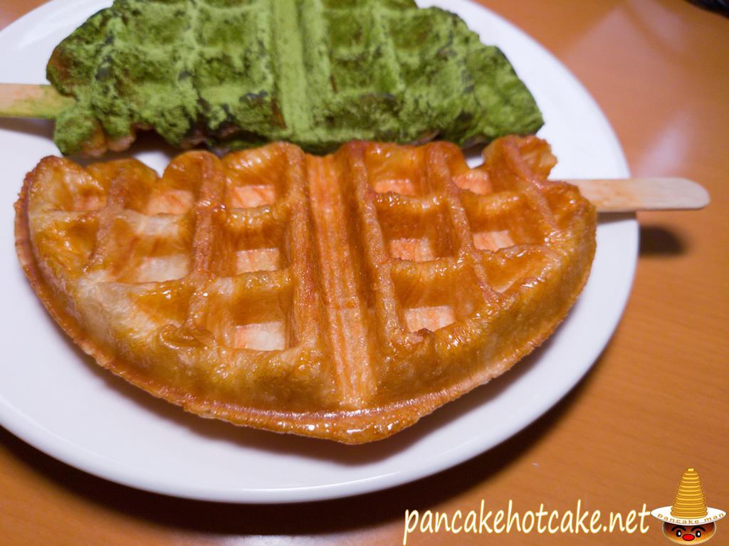 食べた物:クロッフル プレーン(ワッフラのワッフル)wafla 阪急 芦屋川駅スイーツ