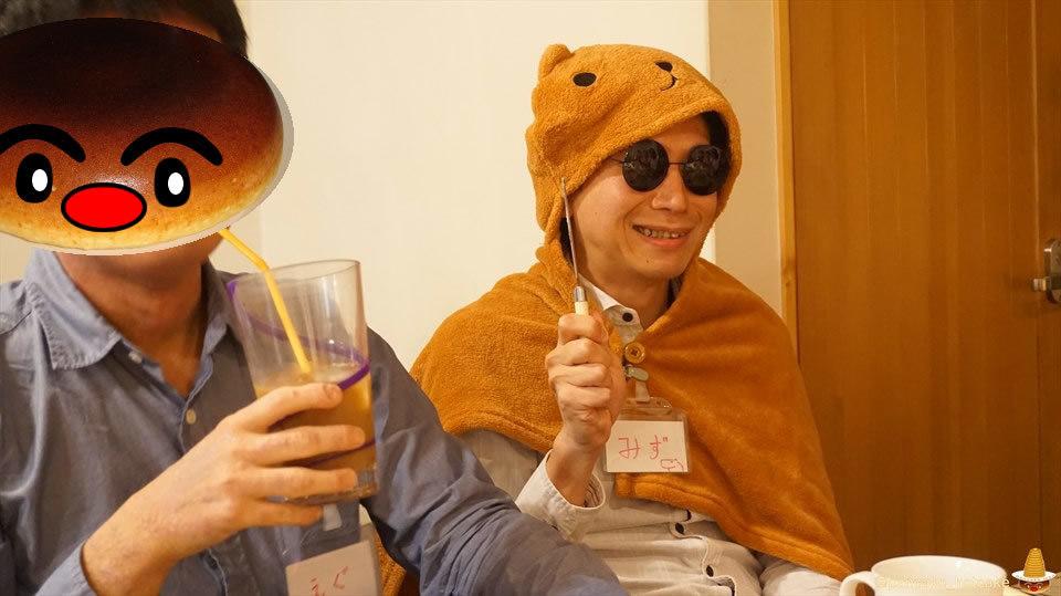 <特別編>パホケ会29inハプナで直径30cm特大ハロウィンパンケーキにパンケーキタワー×3♪(大阪/今福鶴見)パンケーキマン