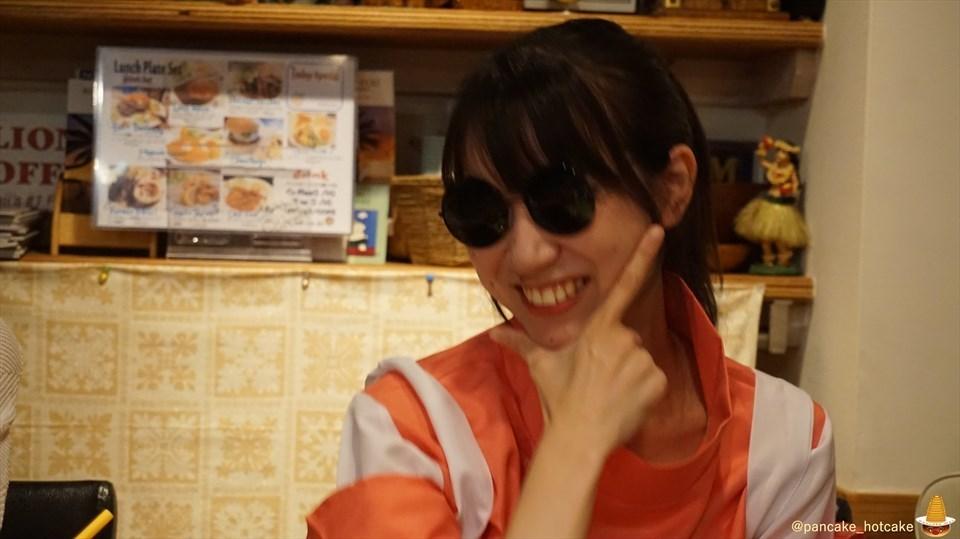 【特別編】パホケ会29inハプナで直径30cm特大ハロウィンパンケーキにパンケーキタワー×3♪(大阪/今福鶴見)パンケーキマン