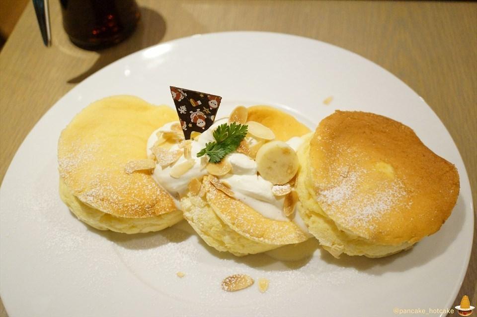 独特食感の厚焼きスフレ系パンケーキの美味しさで笑顔に♪サニーパンケーキ(三重/鈴鹿/鼓ヶ浦)パンケーキマン