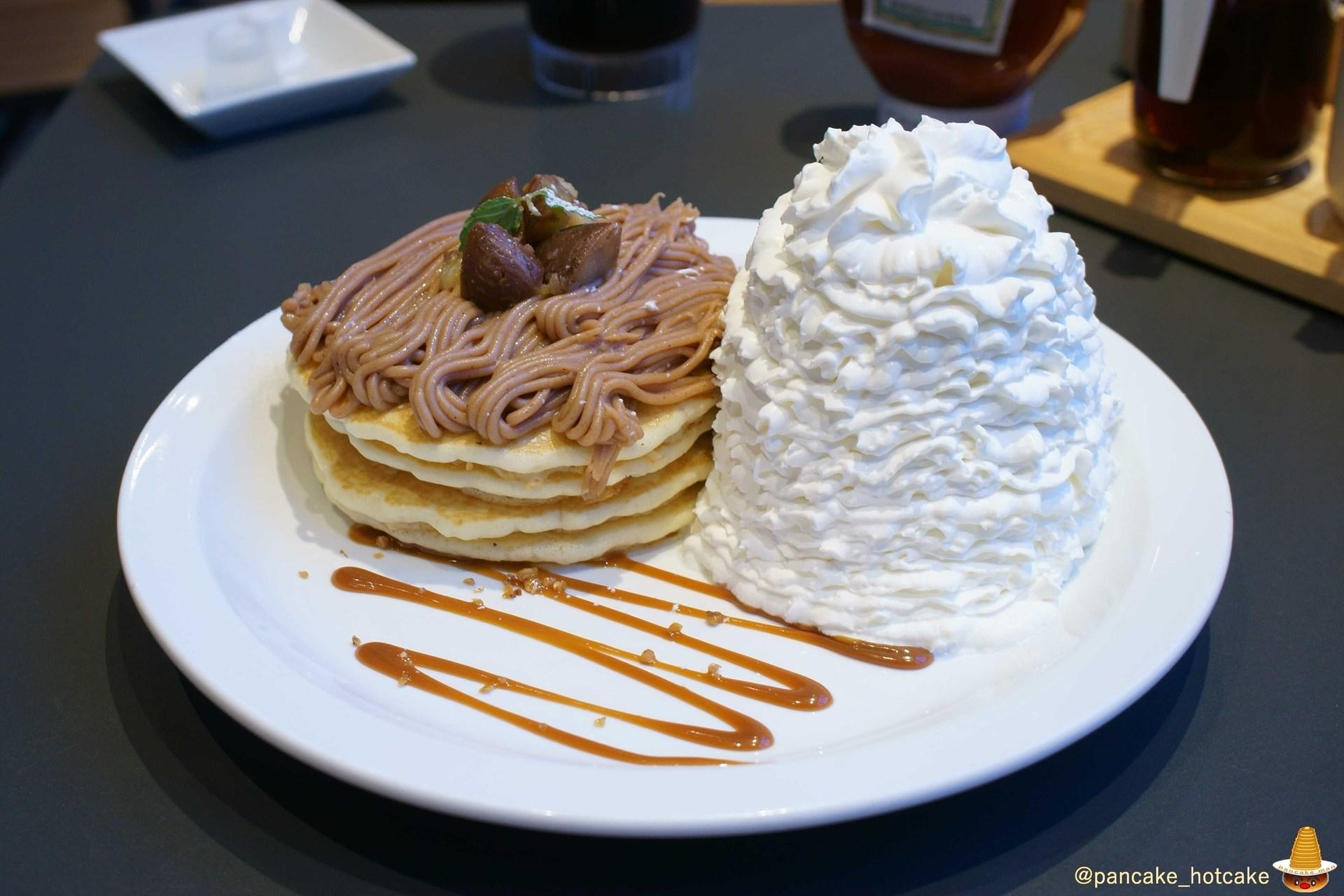 モンブランパンケーキ(エッグスンシングスUSJ前)