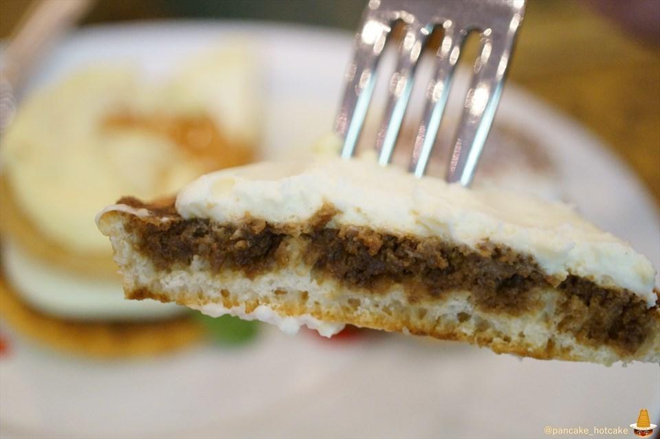 小さく積まれたミルフィユーのパンケーキを味わいに♪ティーラウンジ パルテール ホテル阪急インターナショナル2F レポート第一弾(大阪/梅田)パンケーキマン