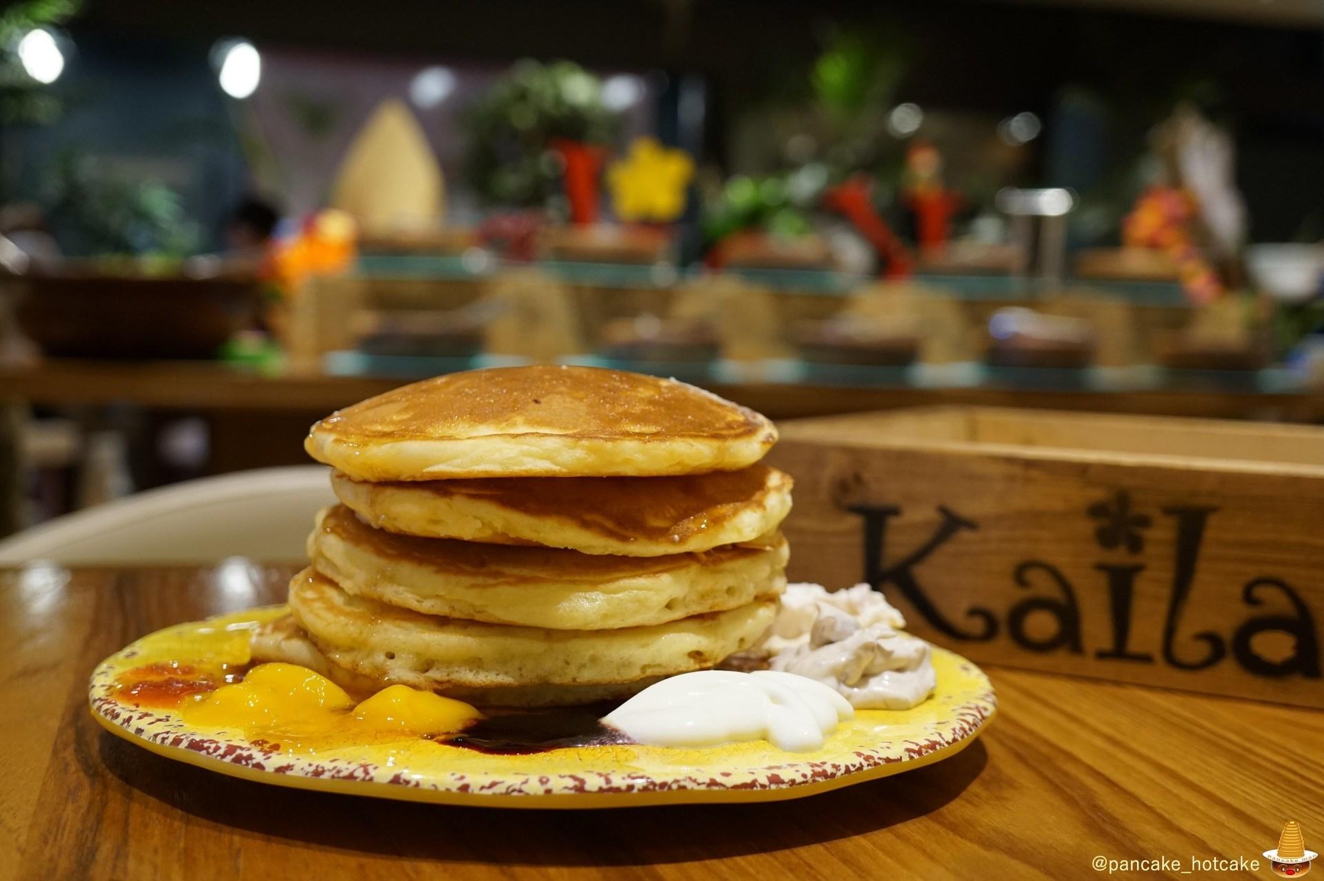パンケーキマンがカイラでパンケーキ食べ放題にチャレンジ