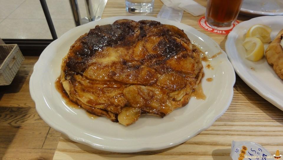 ダッチベイビーのオリジナル・パンケーキ・ハウス アップルパンケーキ(大阪/なんば)パンケーキマン