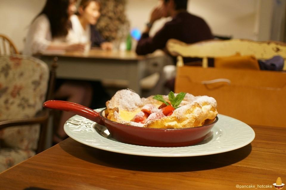 アンジーで春期間限定ダッチベイビー登場♪Strawberry Dutch Pancakeとショコラパンケーキ ANGIE(神戸/元町/南京町)パンケーキマン