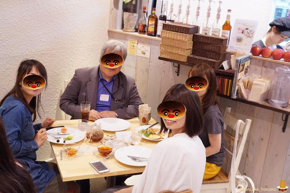 【特別編 速報02】パホケ会32 特大スフレパンケーキ!ライ麦生地のパンケーキタワー!Cafe nicaのパンケーキは最高♪(大阪/心斎橋)パンケーキマン