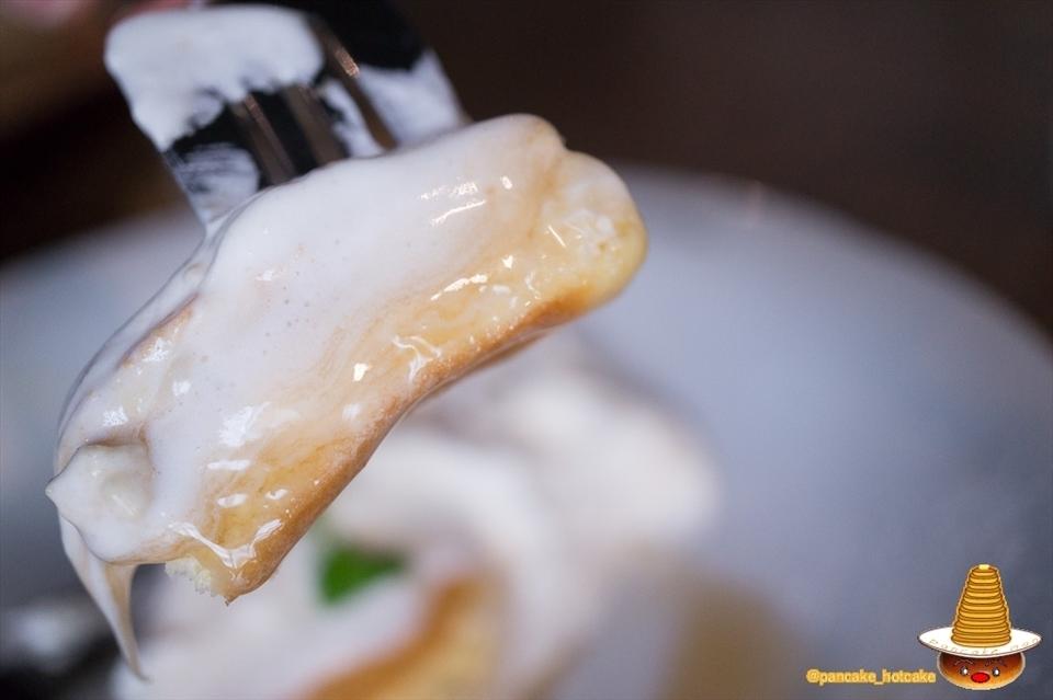 新たなスフレパンケーキが南大阪に♪繊細な生地でシットリふわふわ♪間借り営業のcafe blow(カフェ ブロウ)パンケーキマン
