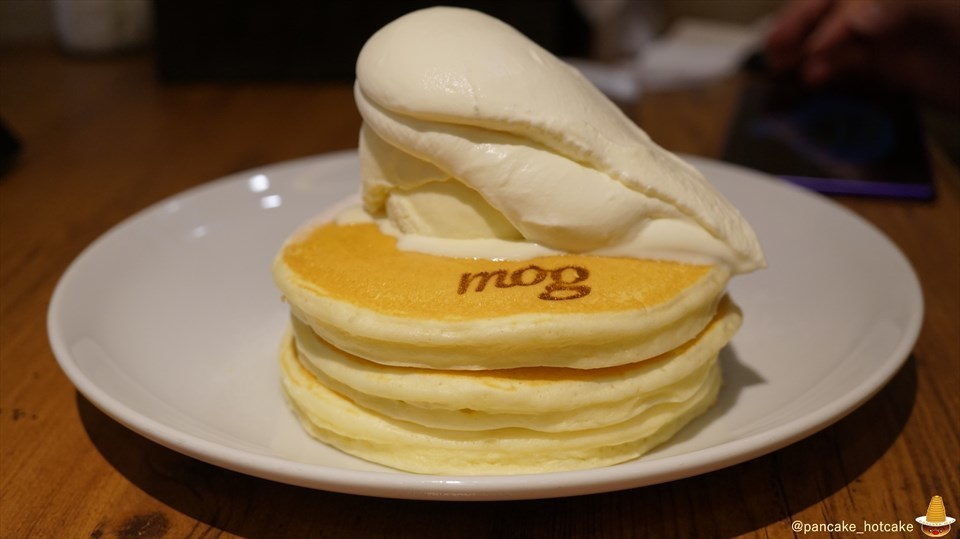 モグ(mog)でパンケーキマンがスペシャルパンケーキをパホケった写真日記♪(大阪/難波)