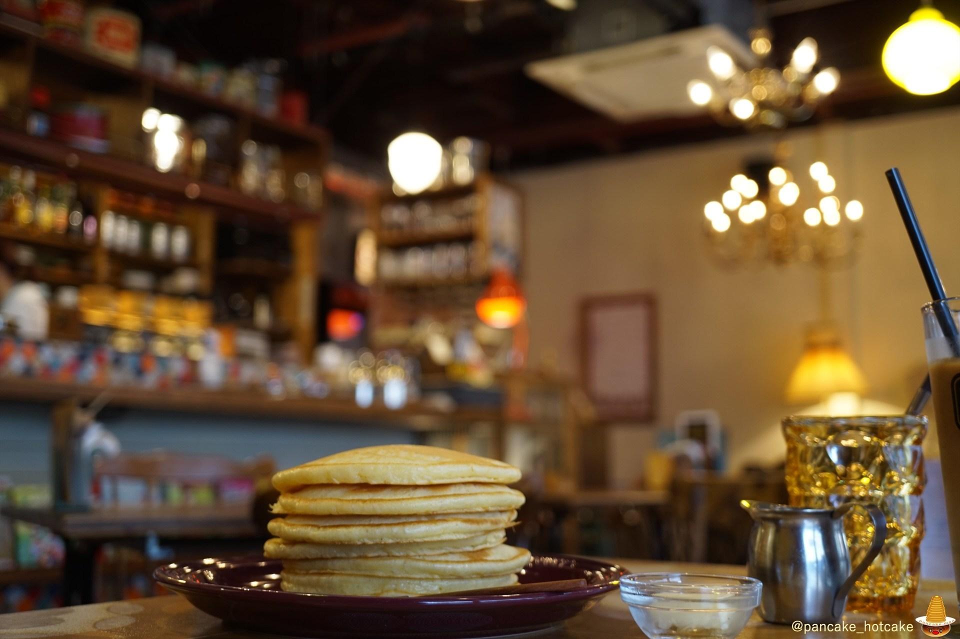 バター&メープル ホットケーキ カフェ・トキオナ(大阪)