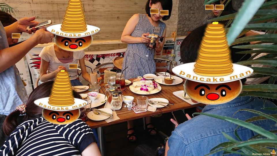 【特別編】パホケ会33 パンケーキタワーにパンケーキタワー♪HoiHoiパンケーキ尽くしの巻♪ホイホイ栄本店(名古屋/栄)パンケーキマン