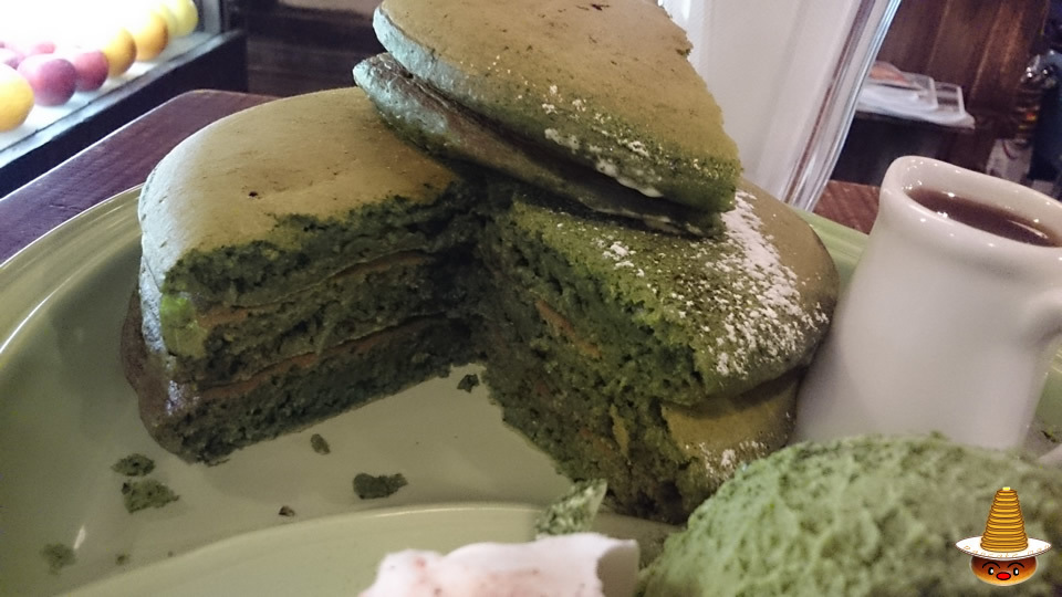 ジュエン 抹茶のパンケーキ(パンケーキマン)