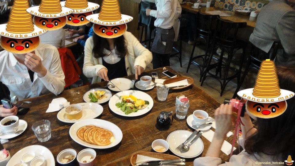かなり古いレポ:絶品スフレ アップルとシナモンの香りのスフレ、サーモンとほうれん草のスフレ ローダーデール(東京/六本木ヒルズ)パンケーキマン&スフレマン