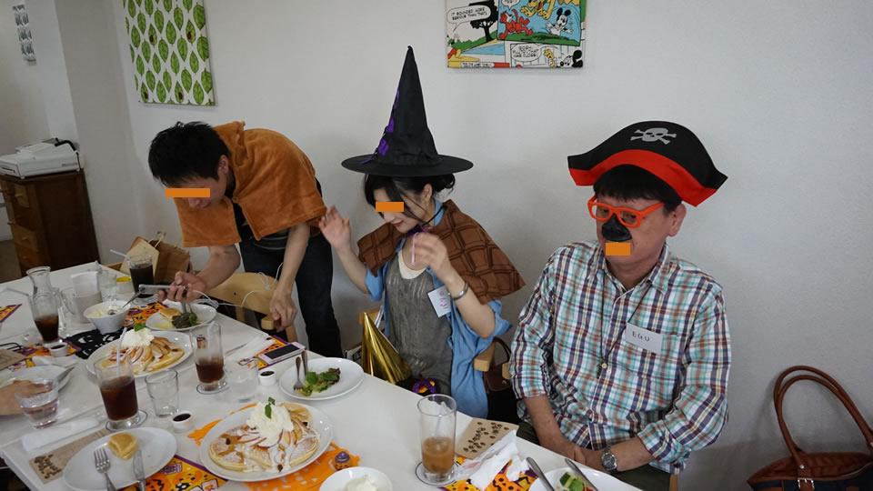 パホケ会21 パンケーキの集まり(カフェ ムーブル)パンケーキマン