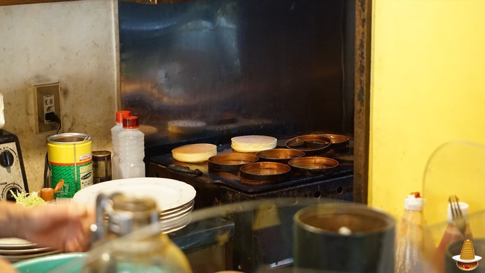 ホットケーキ イチゴとクリーム(シーズン) スプーンハウス(東京/明大前)パンケーキマン