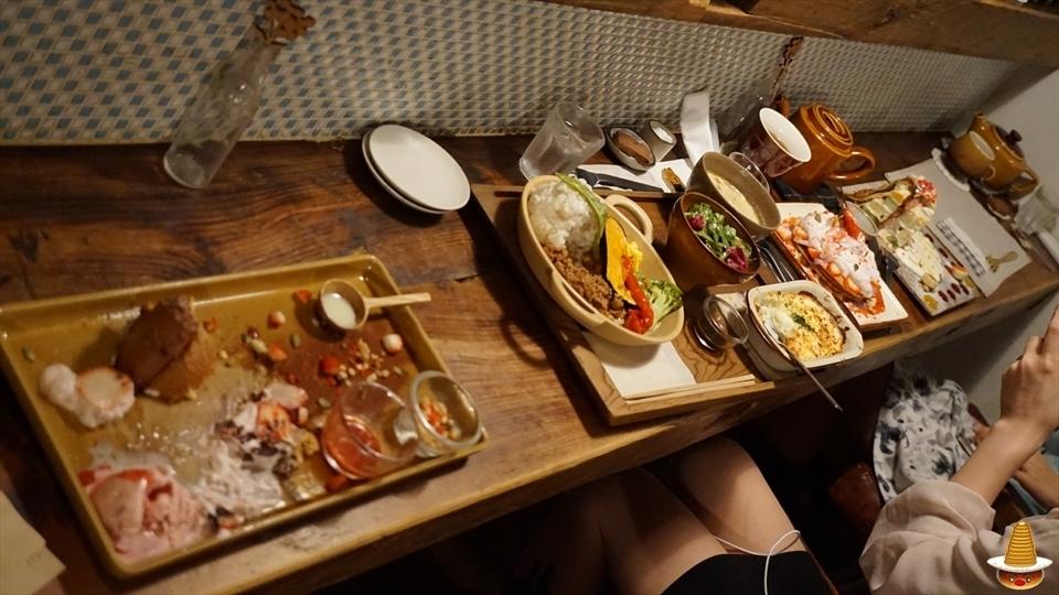 苺のパンケーキとシフォンケーキとミルクレープ、ランチ(岐阜/多治見)パンケーキマン
