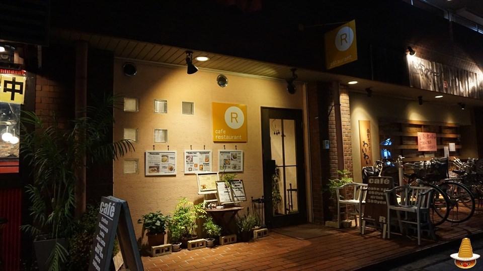 バタークリームパンケーキ カフェレストランR(アール)(大阪/阪急茨木市)パンケーキマン