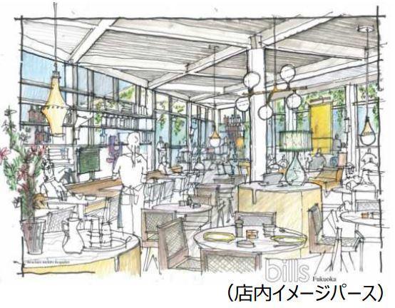 【パホケNR】リコッタ パンケーキのbills西日本初出店!は福岡にオープン予定!2016/7 6店舗目 パンケーキマン