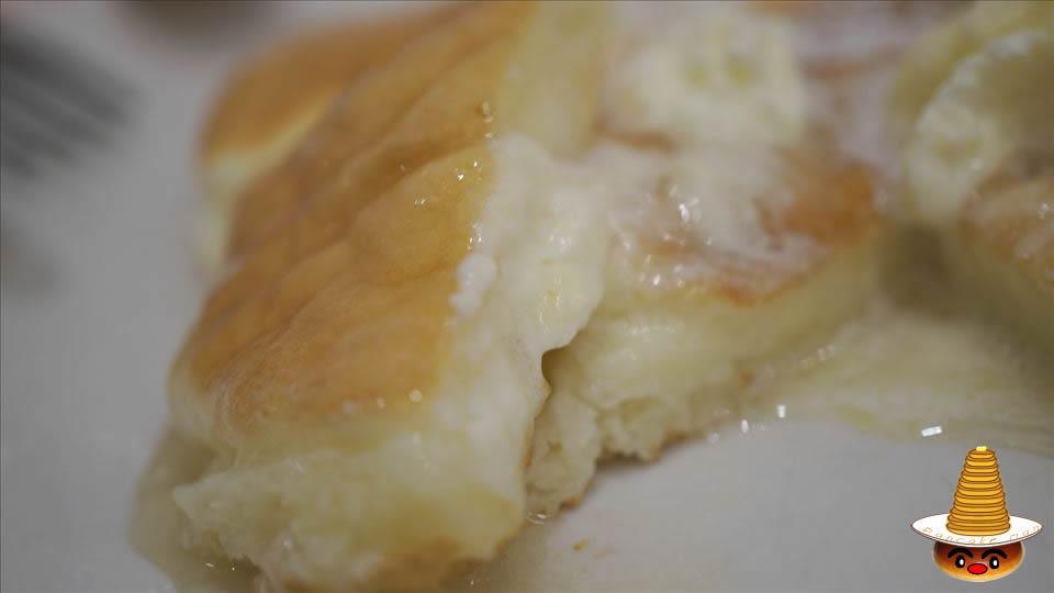 デニーロのスフレパンケーキ(神戸/三宮)パンケーキマン