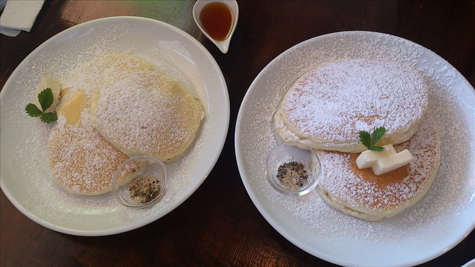 4日間パホケ巡り(パホケ合宿)リコッタパンケーキ 39Cafe サクカフェ(名古屋/八田)